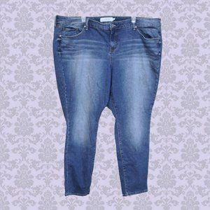 Torrid skinny jeans medium wash size 26